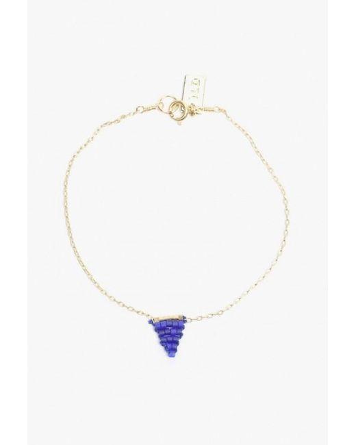 Iwona Ludyga | Blue Beaded Flag Bracelet | Lyst