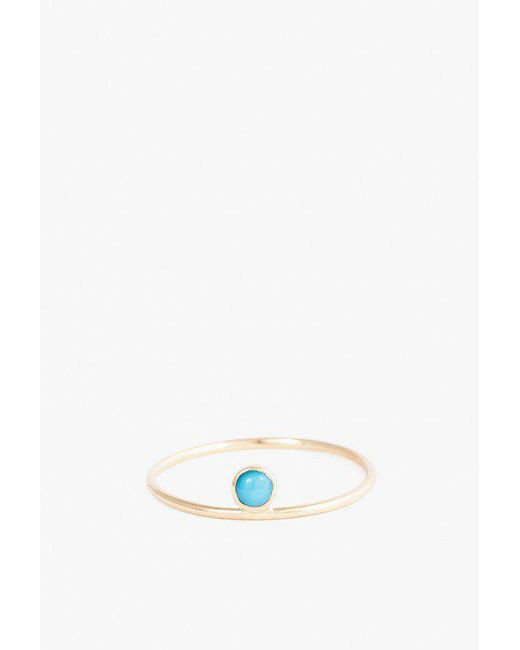 Minoux | Multicolor Turquoise Dot Ring | Lyst