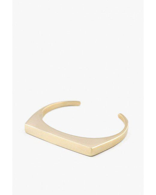Soko - Metallic Brass Line Cuff - Lyst