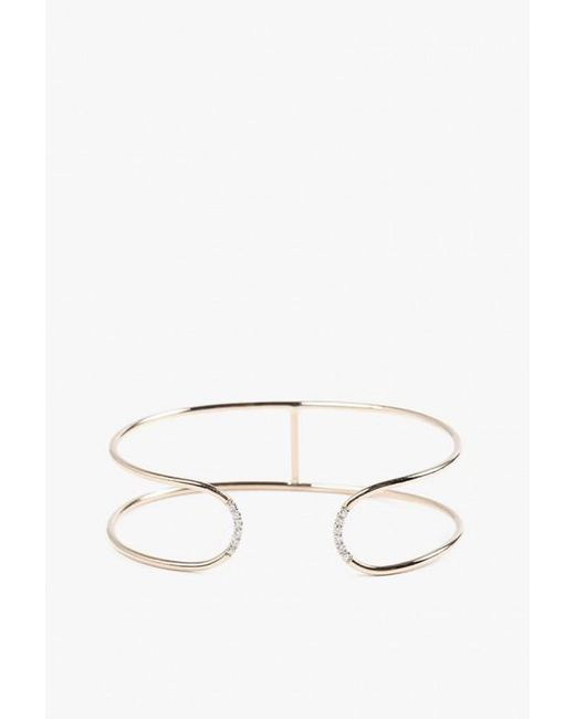 Jennie Kwon | Yellow Double Band Cuff Bracelet | Lyst