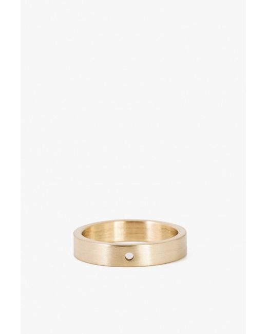 Marmol Radziner - Metallic Lightweight Solid Thin Ring - Lyst