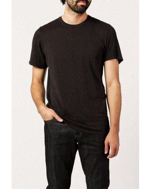 Jungmaven - Black 100 Percent Hemp Tee for Men - Lyst