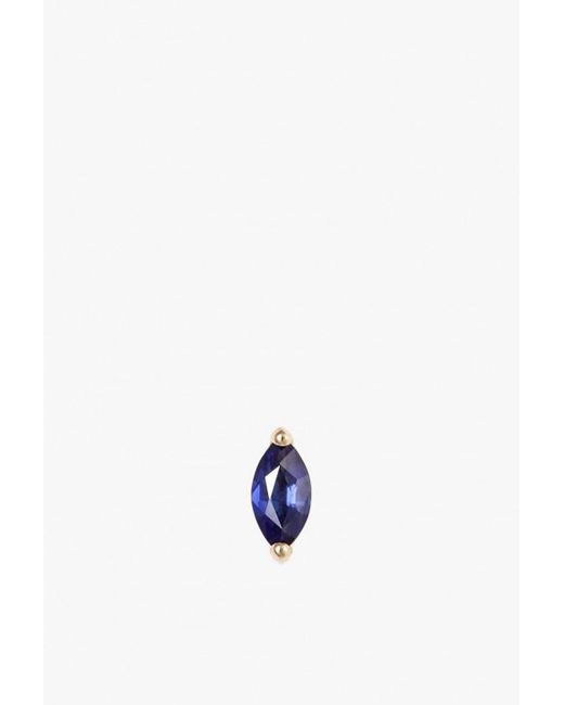 Selin Kent | Blue Defne Stud Single Earring | Lyst