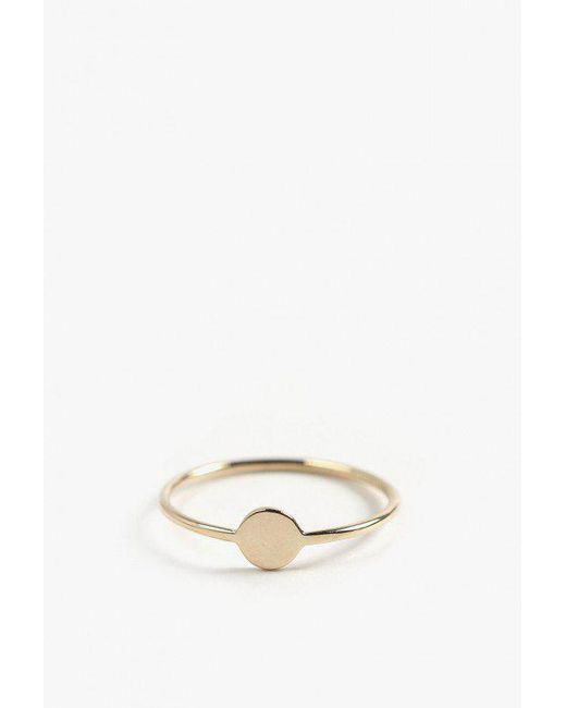 Ariel Gordon   Metallic Mini Shape Ring   Lyst