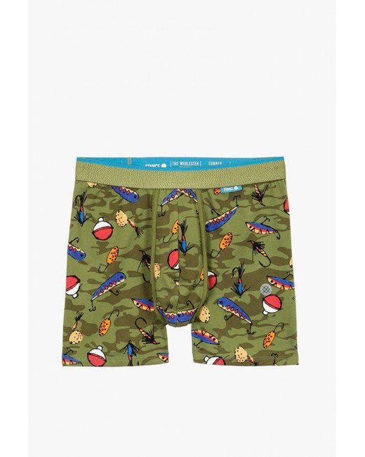 Stance - Green Bait And Tackle Underwear for Men - Lyst