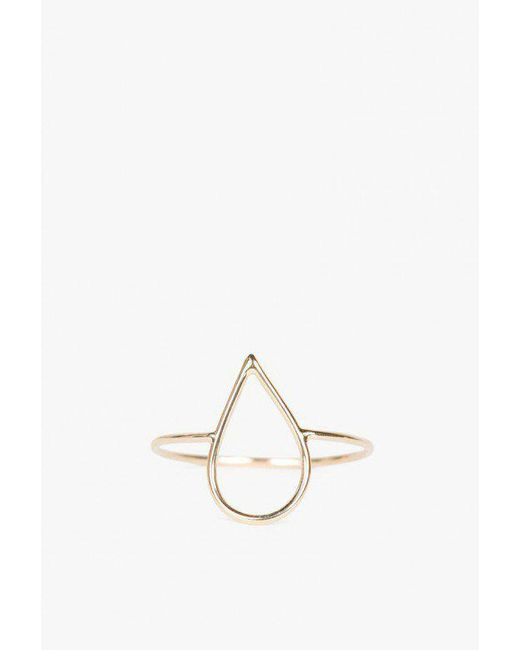 Ariel Gordon | Metallic Delicate Silhouette Ring | Lyst