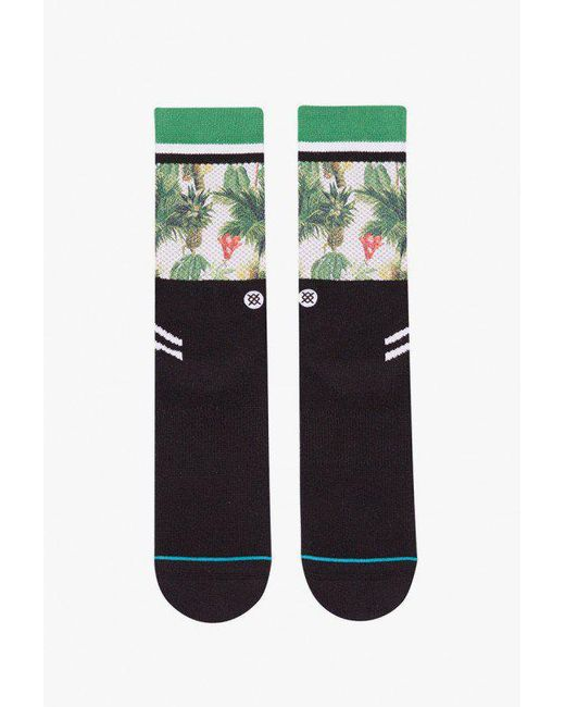 Stance - Black Bring The Heath Sock for Men - Lyst