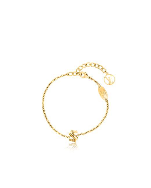 Louis Vuitton | Metallic Lv & Me Bracelet, Letter S | Lyst