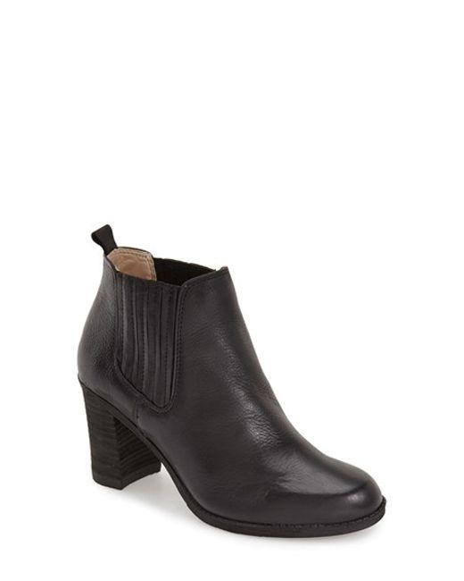 Dr. Scholls | Black Original Collection 'london' Block Heel Bootie | Lyst