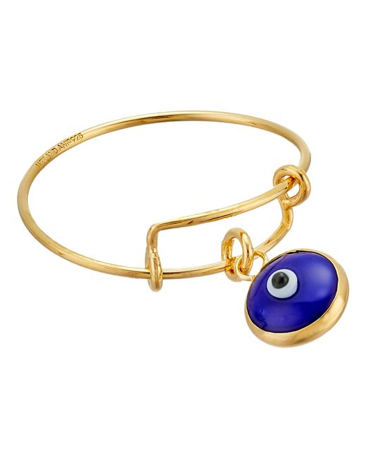 ALEX AND ANI   Blue Evil Eye Expandable Wire Ring   Lyst