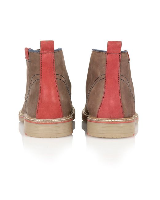 Lotus | Brown Holbeton Lace Up Casual Desert Boots for Men | Lyst