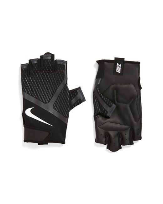 Nike Men S Destroyer Training Gloves: Nike 'renegade' Fingerless Padded Training Gloves In White