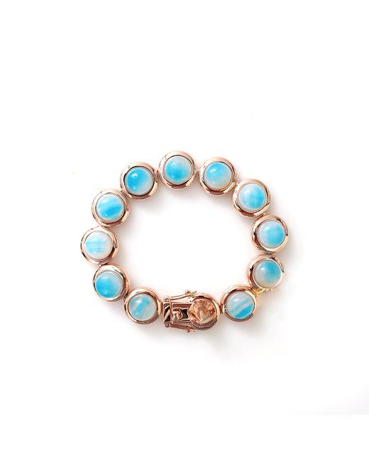 Eddie Borgo | Metallic Gem Stone Dome Bracelet | Lyst