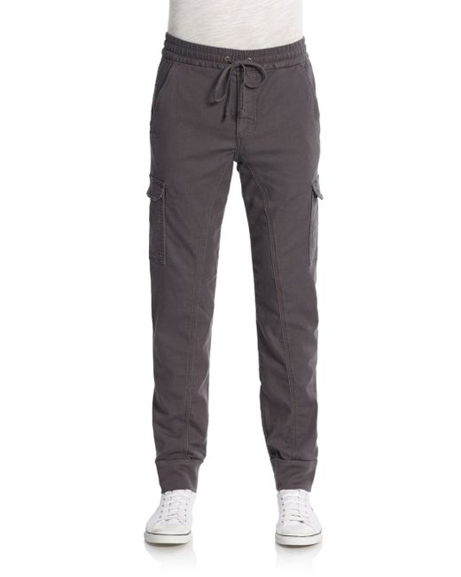 Joe's Jeans | Gray Cargo Knit Jogger Pants for Men | Lyst