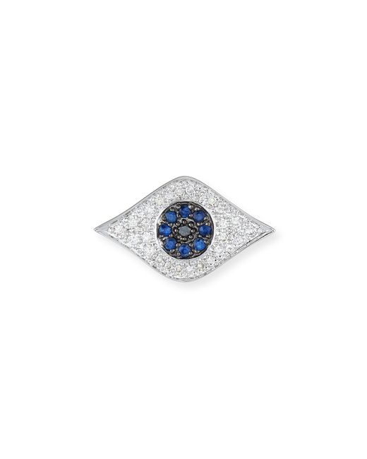 Sydney Evan | Blue Large Evil Eye Single Stud Earring | Lyst