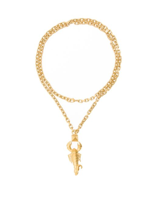 Valentino | Metallic Capricorn Necklace | Lyst