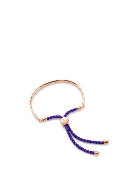 Monica Vinader   Metallic Fiji Friendship Bracelet   Lyst