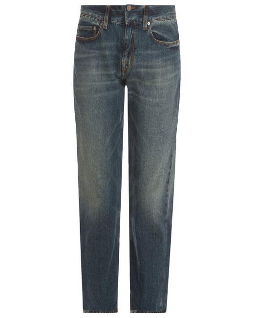 Victoria Beckham | Blue Slouch Boyfriend Jeans | Lyst
