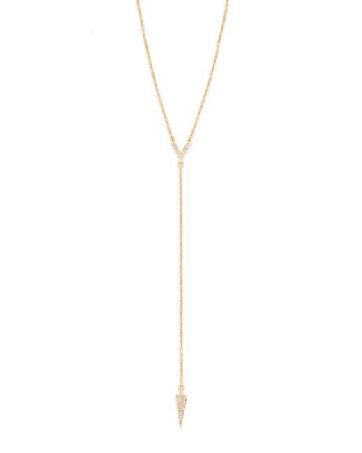 Rebecca Minkoff | Metallic Y Necklace | Lyst