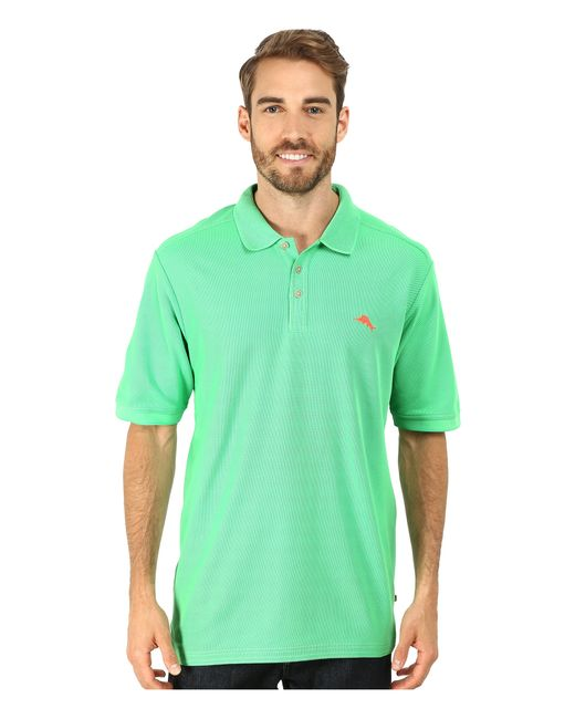 Tommy Bahama The Emfielder Polo Shirt In Green For Men