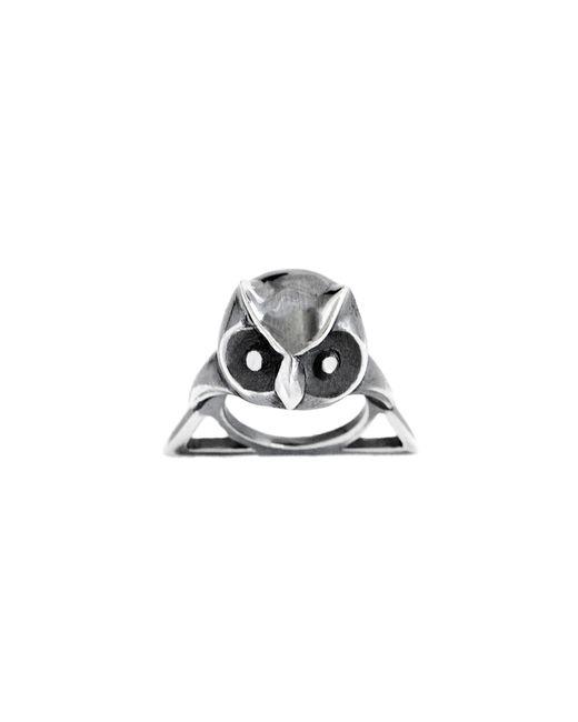 Glenda López | Metallic The Owl Triangle Ring | Lyst
