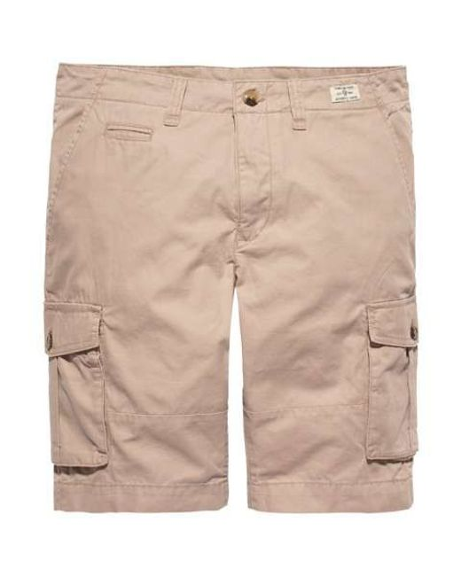 tommy hilfiger john light twill shorts in beige for men lyst. Black Bedroom Furniture Sets. Home Design Ideas