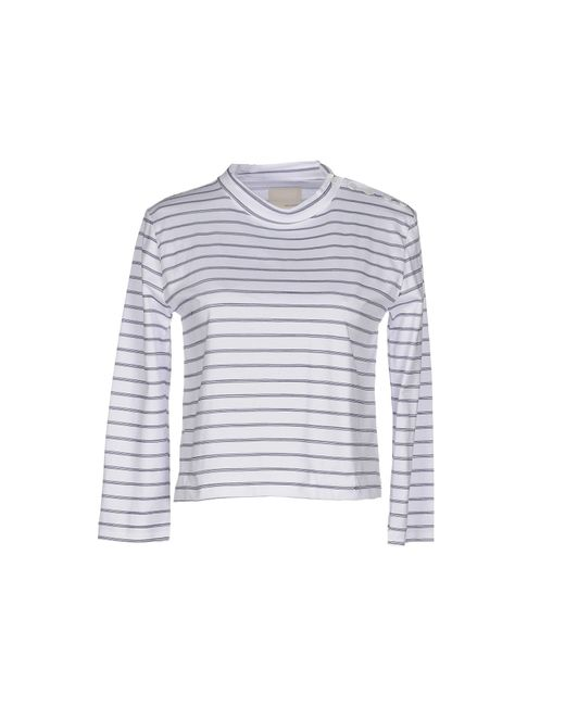 Band of Outsiders   White T-shirt   Lyst