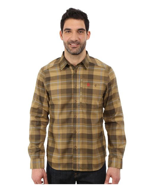 Fjallraven | Green Fjallglim Shirt for Men | Lyst