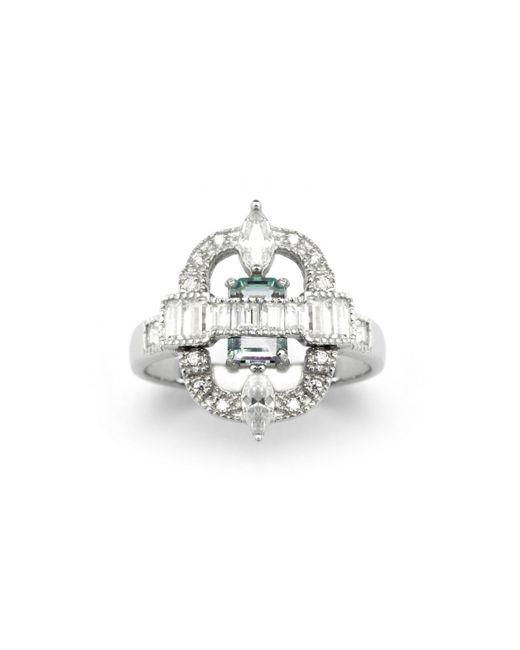 V Jewellery | Metallic Romance Ava Ring | Lyst