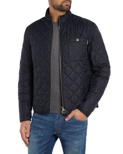 Barbour | Blue Axle Quilted Jacket for Men | Lyst
