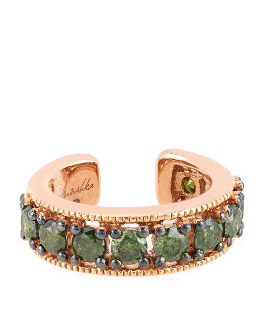 Annoushka | Metallic Rose Gold Dusty Diamonds Ear Cuff | Lyst