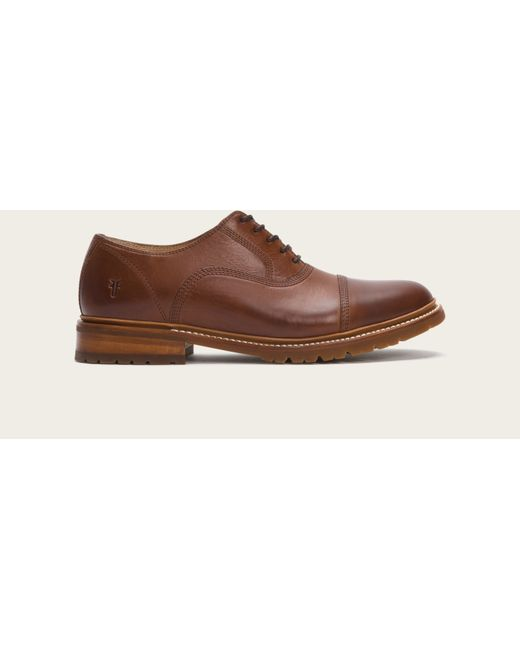 Frye | Brown James Bal Lug Oxford for Men | Lyst
