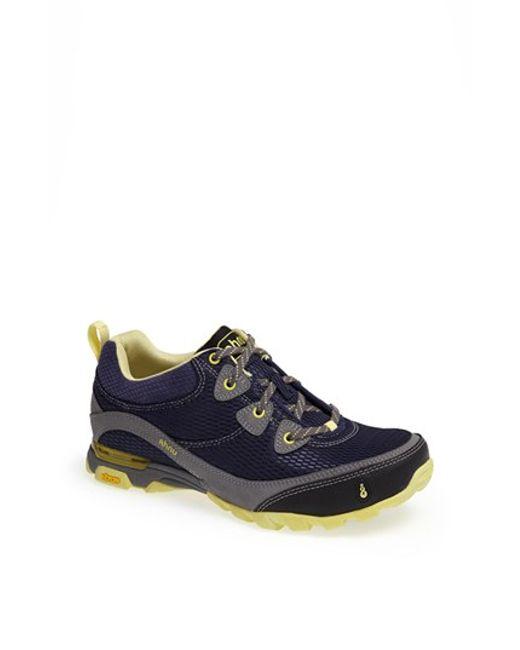 Ahnu | Black 'sugarpine - Air' Mesh Sneaker | Lyst