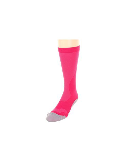 2XU   Pink Compression Performance Run Sock   Lyst