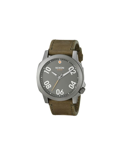 Nixon | Brown The Ranger 45 Leather | Lyst
