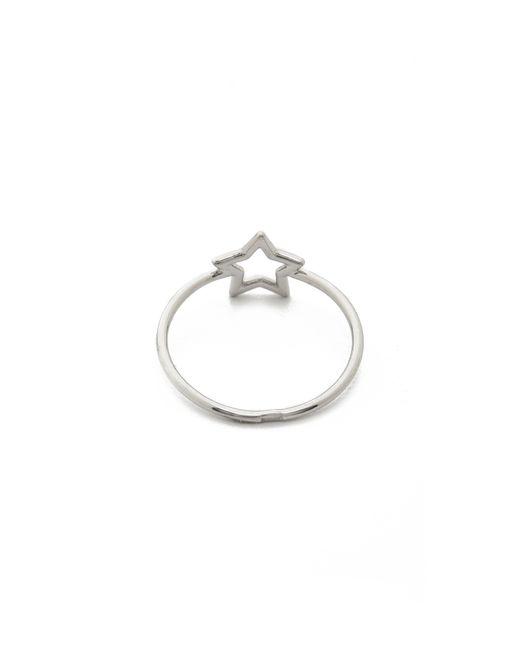 Aurelie Bidermann | Metallic Silver Star Ring | Lyst