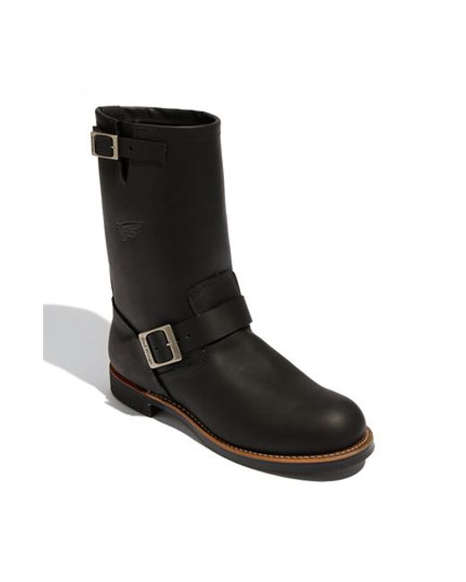 Red Wing | Black 'engineer' 11 Inch Boot for Men | Lyst