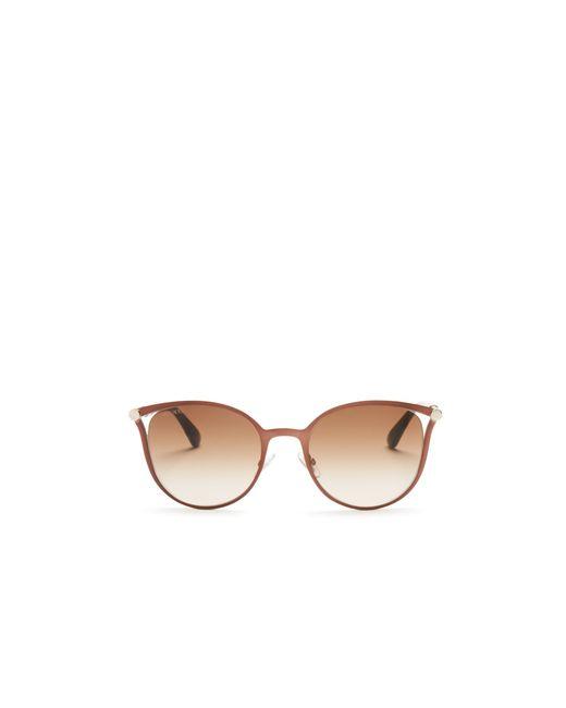 Jimmy Choo | Brown Neiza Square Sunglasses, 54mm | Lyst