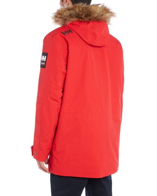 Helly hansen Norse Parka in Red for Men