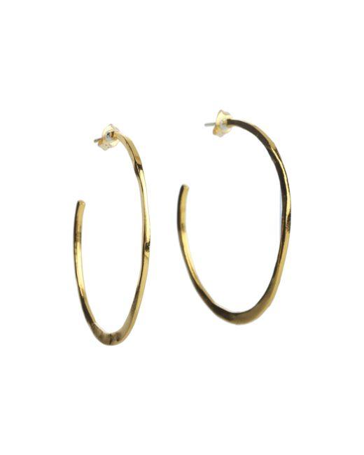 Gorjana | Metallic Arc Large Hoops | Lyst
