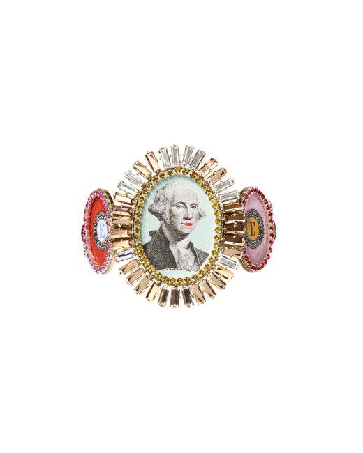 Bijoux De Famille   Multicolor Disco Funky Dollar Choker Bracelet   Lyst