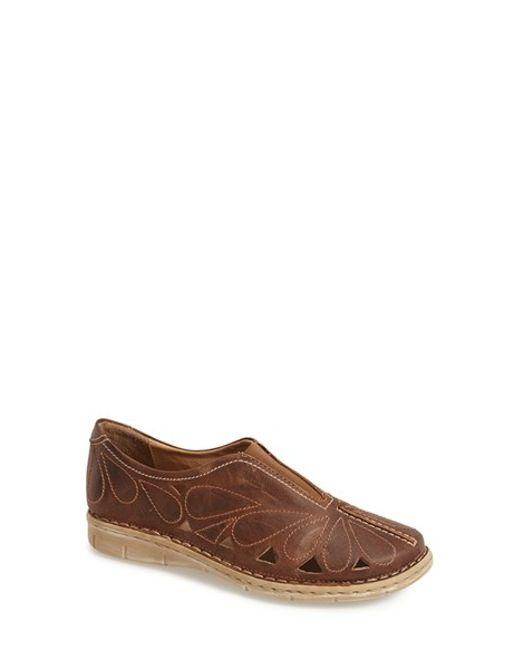 Josef Seibel | Brown 'amanda 13' Loafer | Lyst