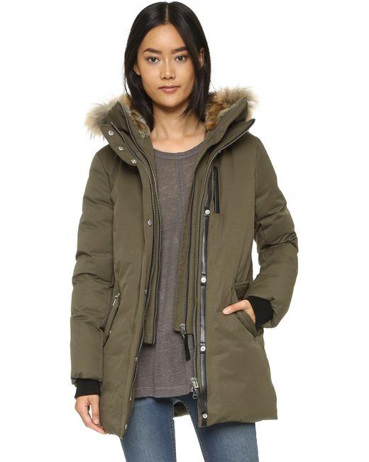 Mackage | Green Marla Coat | Lyst