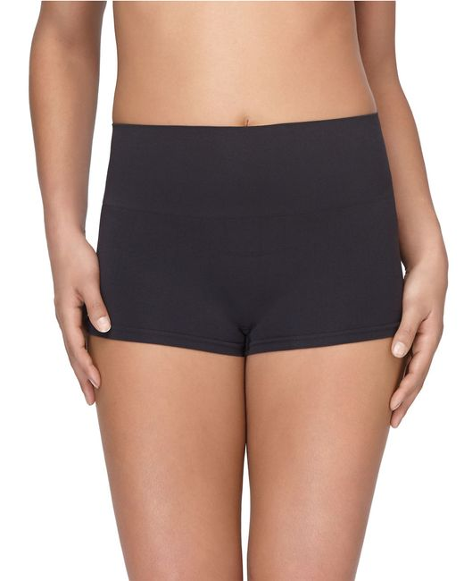 Yummie By Heather Thomson | Black Hi-waist Compression Shorts | Lyst