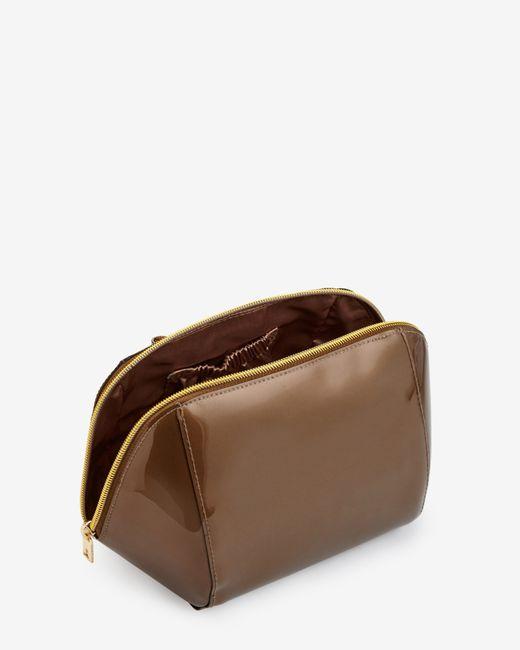 Ted Baker | Metallic Glitter Bow Trim Large Wash Bag for Men | Lyst