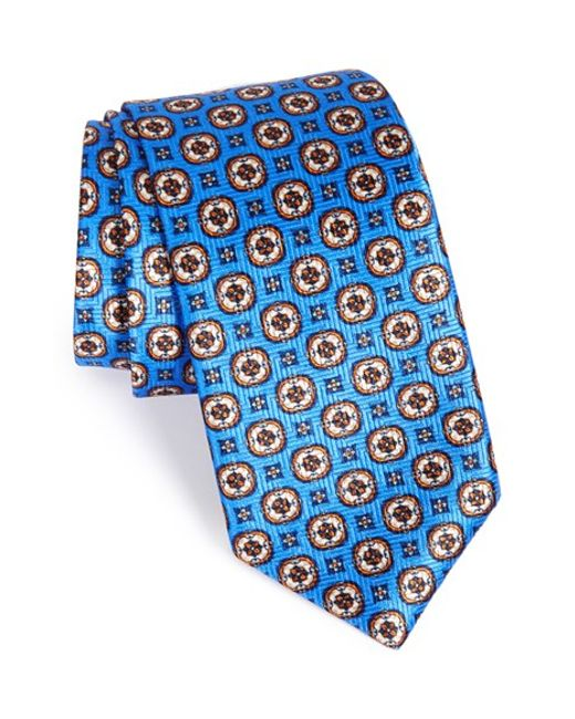 Robert Talbott | Blue Best Of Class Medallion Silk Tie for Men | Lyst