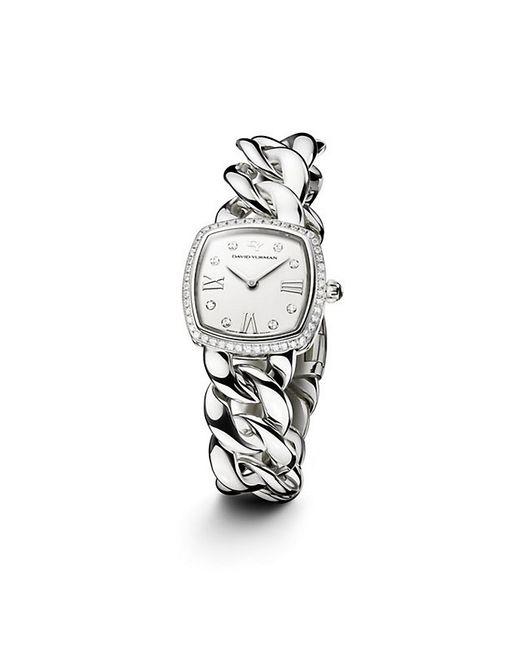 David Yurman | Metallic Albion 23mm Stainless Steel Quartz Watch With Diamonds | Lyst