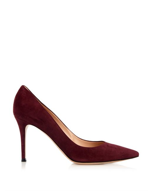 Gianvito Rossi | Red 'business' Pumps | Lyst