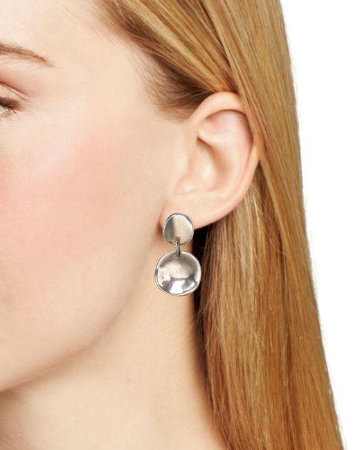 Uno De 50 | Metallic Scales Drop Earrings | Lyst