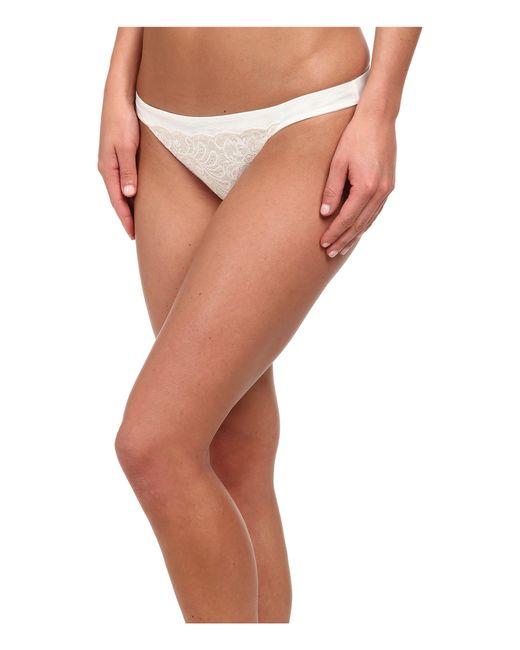 Le Mystere | White Sophia Lace String Bikini 735 | Lyst